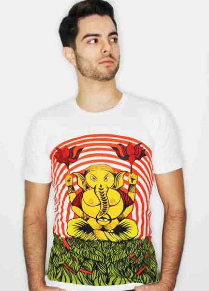 ganesh t shirt Ganesh T Shirt from Jamon Endiablado