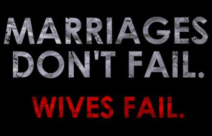 marriages dont fail wives fail t shirt Marriages Dont Fail Wives Do T Shirt from T Shirt Hell