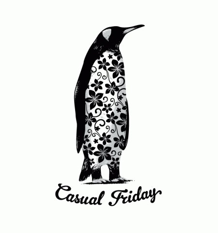 penguin casual friday t shirt Penquin Casual Friday T Shirt From Busted Tees