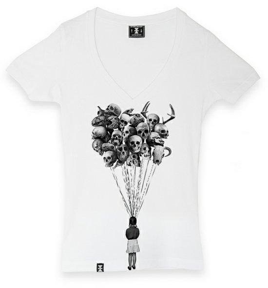 skull balloons t shirt Skull Balloons from De Bellemort