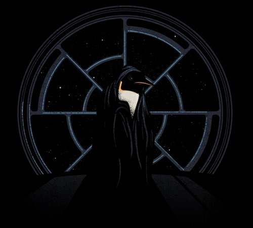 star wars emporer penguin t shirt Star Wars Penguin Emperor T Shirt From Threadless