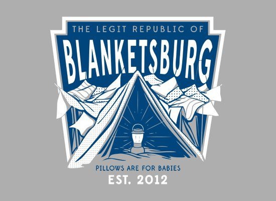 the legit republic of blanketsburg t shirt The Legit Republic of Blanketsburg T Shirt