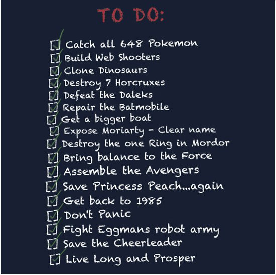 to do list t shirt To Do List T Shirt from Red Bubble