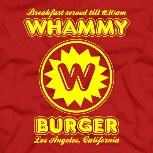 whammy burger t shirt Falling Down Whammy Burger T Shirt