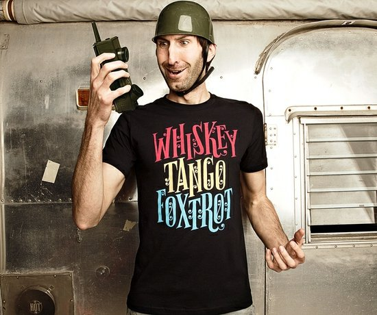 whiskey tango foxtrot t shirt Whiskey Tango Foxtrot T Shirt from Threadless