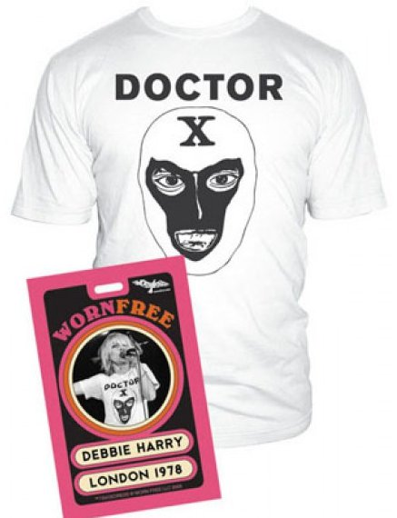 doctor x t shirt Debbie Harry Doctor X T Shirt