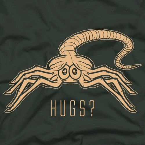 hugs t shirt Facehugger Hugs T Shirt