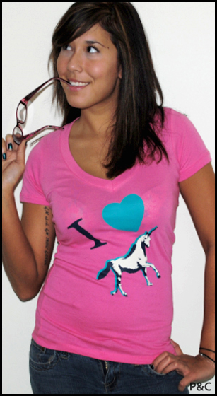 i love unicorns Shirt Shop Interview: Polly & Crackers