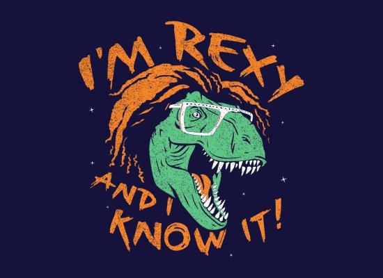 im rexy and i know it t shirt LMFAO Im Rexy and I Know It T Shirt