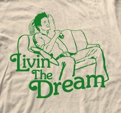 livin the dream t shirt T Shirt Shop Interview: Crooked Monkey