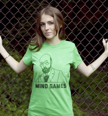 mind games t shirt Sigmund Freud Mind Games T Shirt
