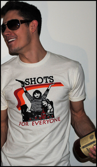 shots for everyone Shirt Shop Interview: Polly & Crackers