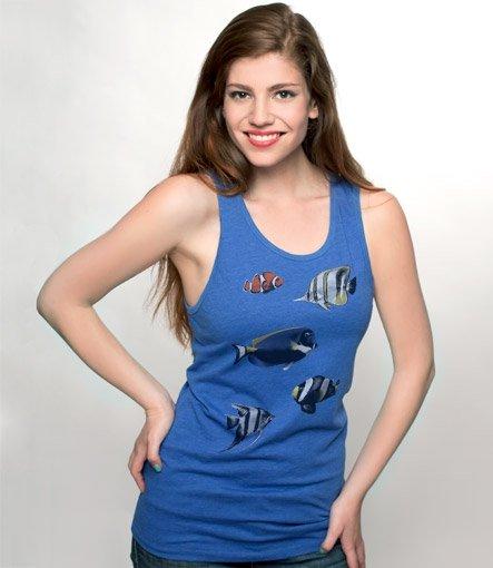 tropical fish tank t shirt Tropical Fish Tank T Shirt