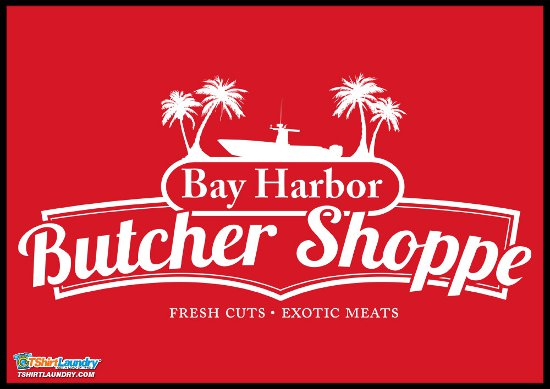 bay harbor butcher shoppe t shirt Dexter Bay Harbor Butcher Shoppe T Shirt