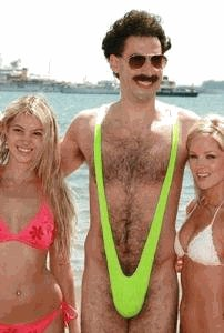 borat mankini t shirt Borat Mankini Costume
