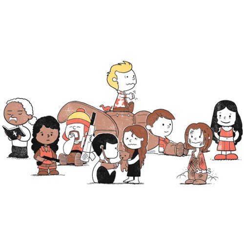 firefly peanuts the gang t shirt Firefly Peanuts The Gang T Shirt