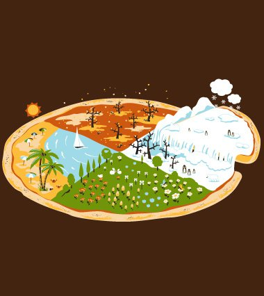 four seasons pizza t shirt Four Seasons Pizza T Shirt