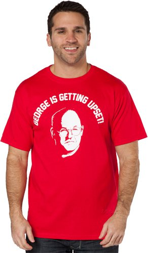 george is getting upset t shirt Seinfeld George is Getting Upset T shirt