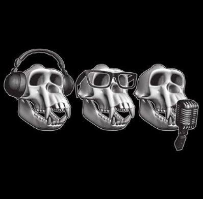 hear no evil see no evil speak no evil t shirt 3 Monkeys T Shirt