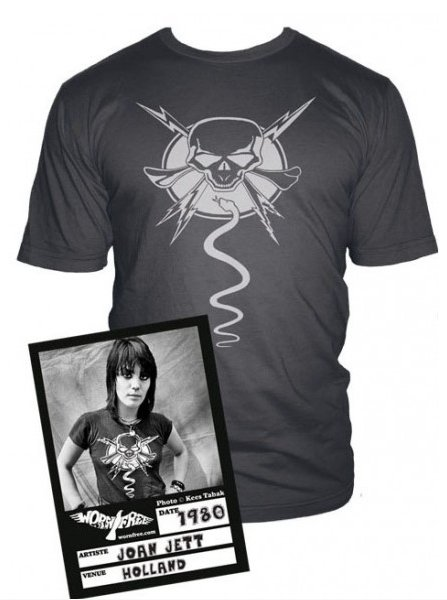 joan jett snake and skull t shirt Joan Jett Snake and Skull T Shirt