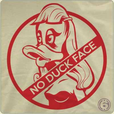 no duck face t shirt No Duck Face T Shirt