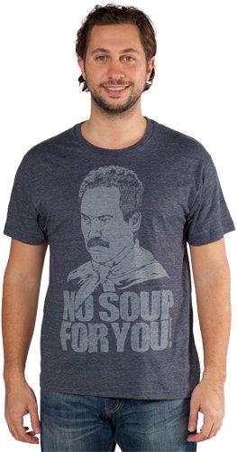 soup nazi no soup for you t shirt Seinfeld Soup Nazi T Shirt