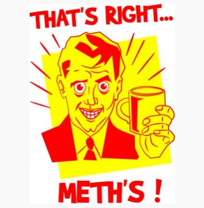 thats right meths t shirt Pud Tees: Shirt Shop Interview