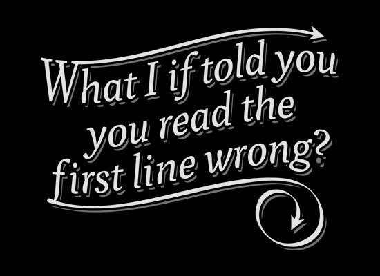 what i if told you you read the first line wrong t shirt What I If Told You You Read the First Line Wrong T Shirt