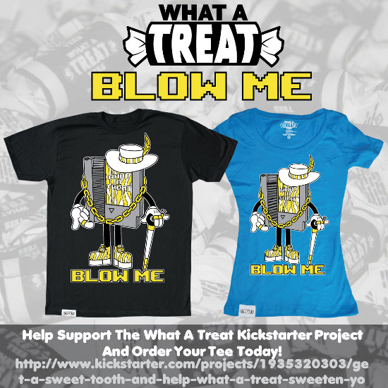 Blow Me Kickstarter Promo What a Treat: Shirt Shop Interview