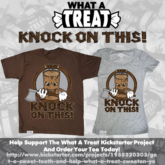 Knock On This Kickstarter Promo What a Treat: Shirt Shop Interview