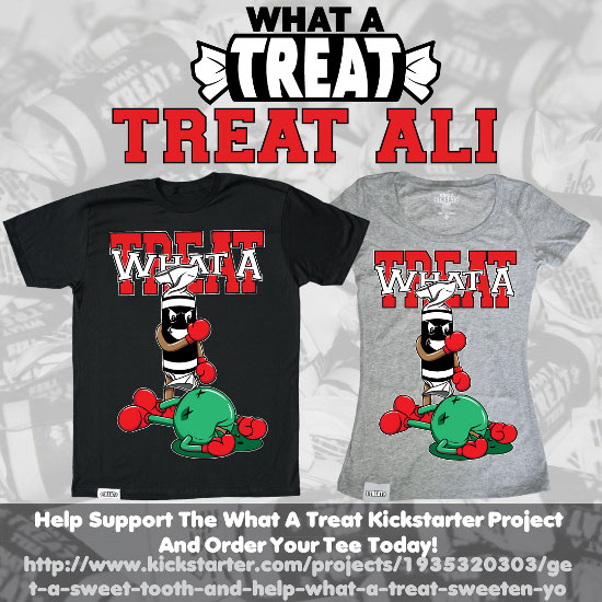 Treat Ali Kickstarter Promo What a Treat: Shirt Shop Interview