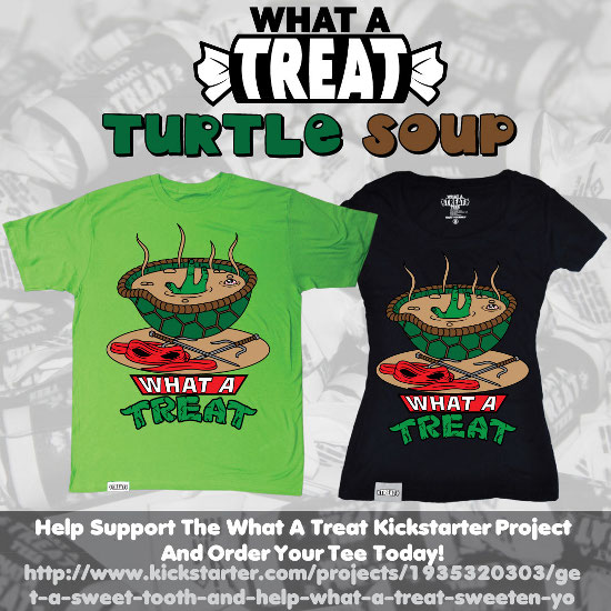 Turtle Soup Kickstarter Promo What a Treat: Shirt Shop Interview