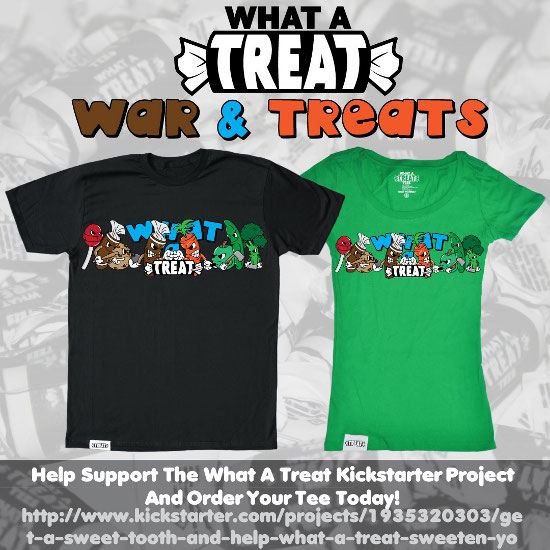 War Treats Kickstarter Promo What a Treat: Shirt Shop Interview