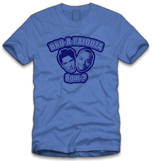bro a palooza t shirt Scrubs Bro a Palooza T Shirt