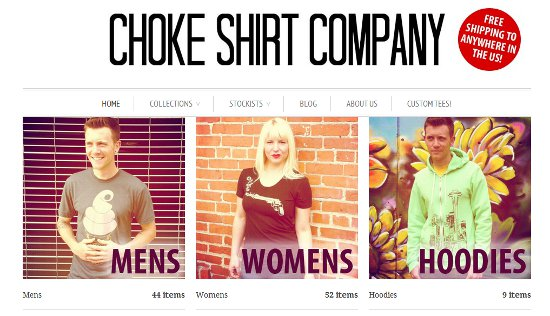 choke shirt company Shirt Shop Interview: Choke Shirt Company