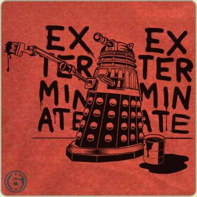 dalek exterminate t shirt Dr Who Dalek Exterminate T Shirt