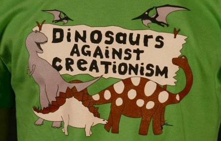 dinosaurs against creationism t shirt1 Ban T shirts: Shirt Shop Interview