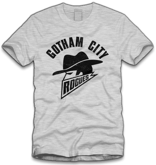 ff gotham city rogues t shirt1 Batman Gotham City Rogues T Shirt