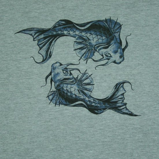 fish go round t shirt Fish Go Round T Shirt