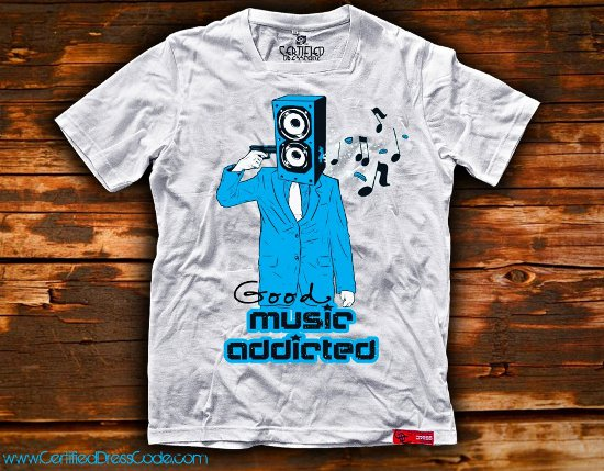 good music addicted t shirt Good Music Addicted T Shirt