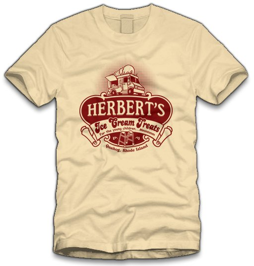 herberts ice cream treats t shirt Family Guy Herberts Ice Cream Treats T Shirt