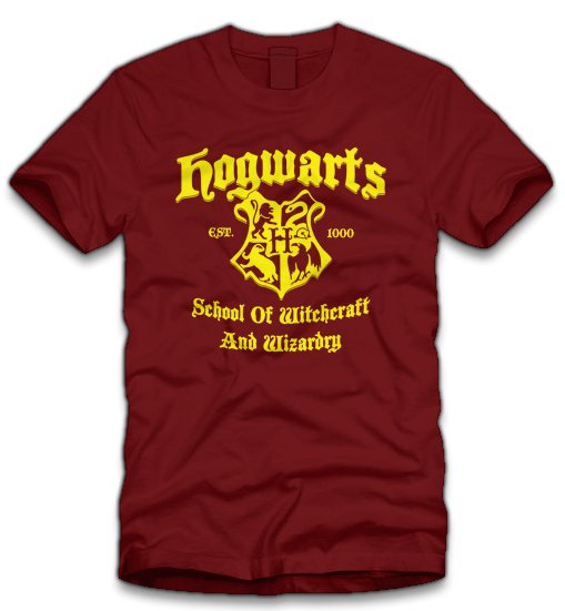 hogwarts school of witchcraft and wizardry t shirt Harry Potter Hogwarts School of Witchcraft and Wizardry T Shirt