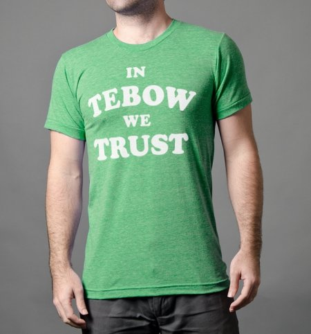 in tebow we trust t shirt In Tebow We Trust T shirt