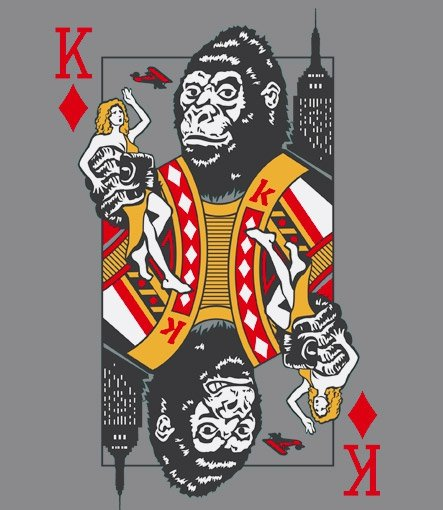 king kong of diamonds t shirt King Kong of Diamonds T Shirt