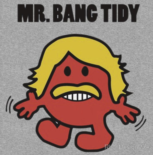 mr bang tidy t shirt Mr. Bang Tidy T Shirt