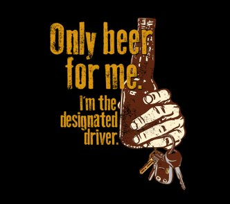 only beer for me im the designated driver t shirt Only Beer For Me Im the Designated Driver T Shirt