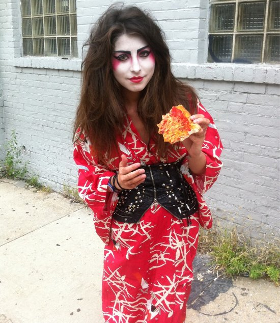 pizza geisha Meet Busted Tees Model Kristen Mukai
