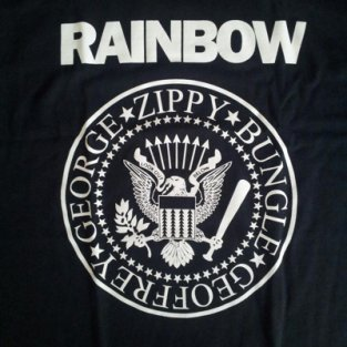 rainbow t shirt1 Stealthy Giant: Shirt Shop Interview