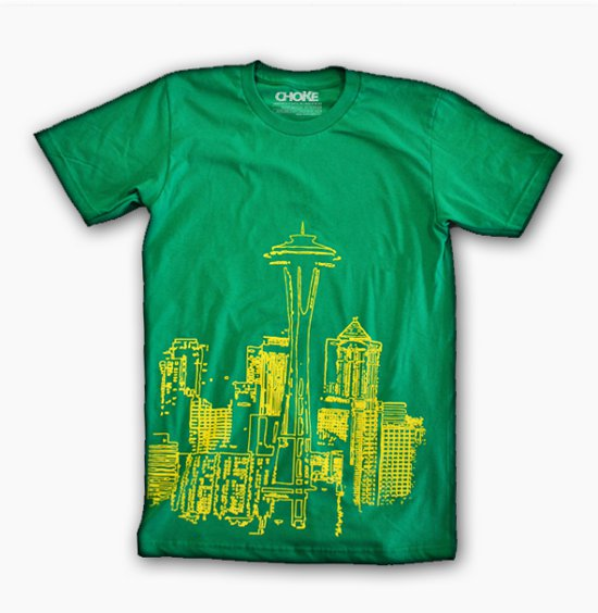 seattle t shirt Shirt Shop Interview: Choke Shirt Company