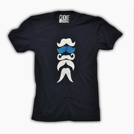 stache t shirt Shirt Shop Interview: Choke Shirt Company